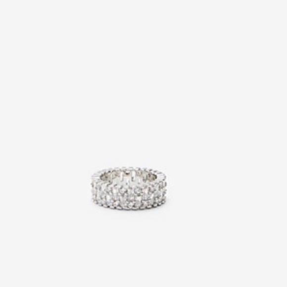 Express Jewelry - NWT Express Baguette Cubic Zirconia Ring